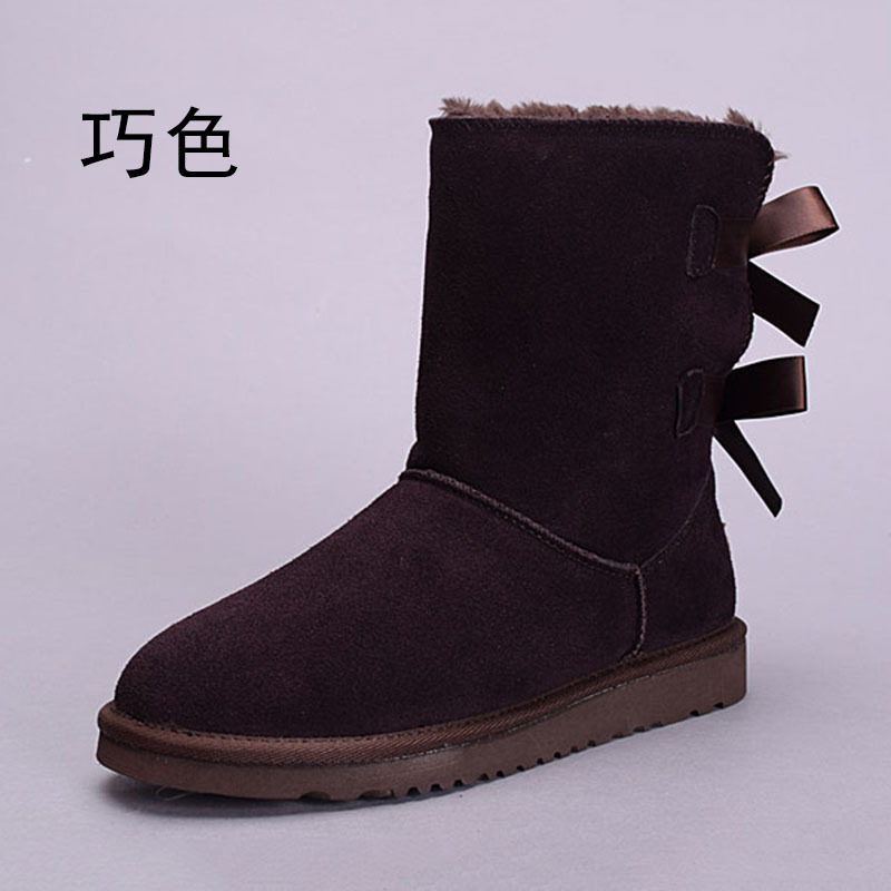 Men's Shoes Basic Boots Russian Winter Warm Leg Boots Black Genuine Leather Snow Boots Lace-up Comfortable Soft Winter Shoes For Man Big Size:37-48 Soft And Light