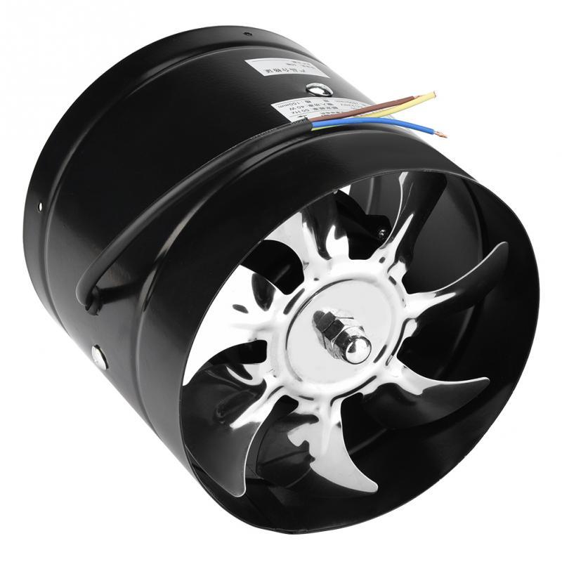 6 Pollici Inline Condotto Della Ventola Ventilatore Aria Tubo Di Metallo Ventilatore Mini Ventilatore Di Ventilazione Di Scarico Extractor Bagno Ventilatore A Muro Ventilatore 100 Millimetri 220 V Bianchezza Pura