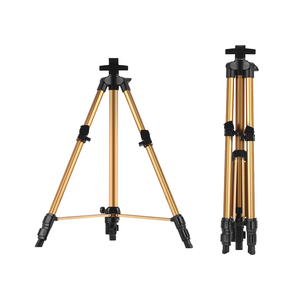 Image 4 - Aluminum Easel Stand Tripod Adjustable Height 19 55 Lightweight Sturdy Field Easel for Painting with Carrying Bag