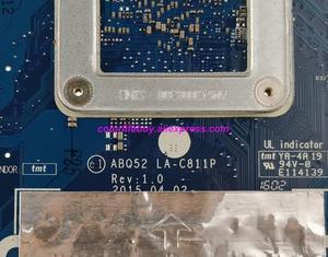 Image 4 - Echtes 815249 501 815249 001 ABQ52 LA C811P UMA w N3700 CPU Laptop Motherboard für HP Notebook 15 15 AC serie 17Z G100 PC