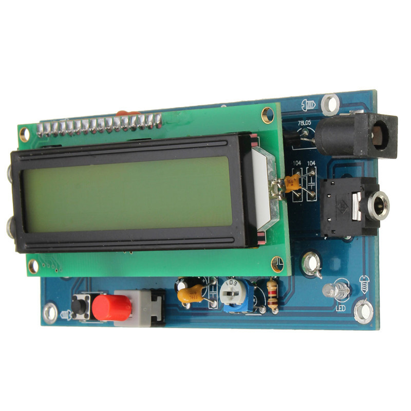 CLIATE CW Decoder Morse Code Reader Morse Code Translator Ham Radio Essential Module Include LCD 2V/500mA