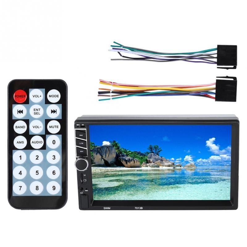 Unterhaltungselektronik Großer Bildschirm 7-zoll Hd Auto Bluetooth Mp5 Mp3 Player Touch Screen Auto Multimedia Mp5-7013b Extrem Effizient In Der WäRmeerhaltung Tragbares Audio & Video