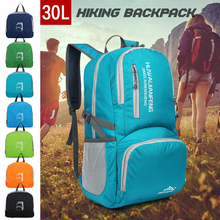 30L Ultralight Handy Travel Backpack Water Resistant Backpack Hiking Daypack Lightweight Foldable Bag for Camping Outdoor Travel все цены