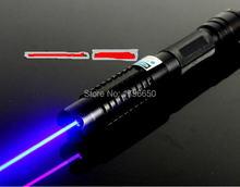 Высокая мощность военная 500000 м 500 Вт 450нм Синяя лазерная