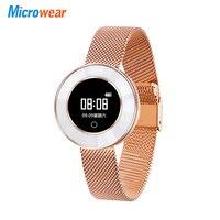 Smart Wristband For Woman Lady Pedometer Sleep Heart Rate Monitor Waterproof Bluetooth Smart Bracelet Women Sports Yoga Mode