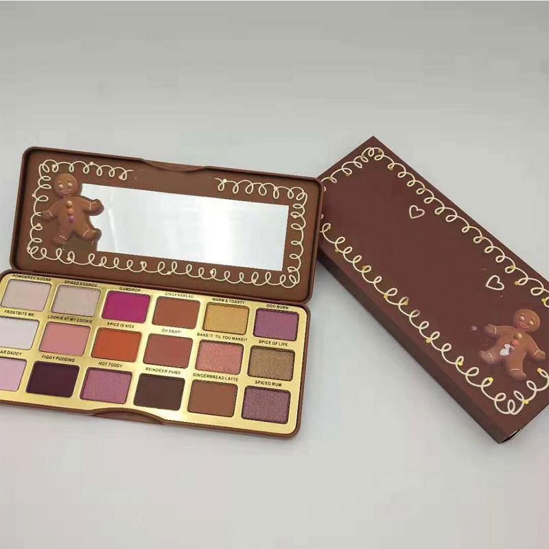 1pc Matte Shimmer Eyeshadow Palette de Maquiagem Cosméticos Glitter Metallic 18 Cores Nude Cremoso Olhos Sombra Pigmentada Profissional