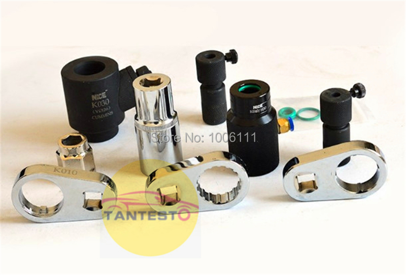 diesel common rail injector disassemble tool for CUMMINNS, injector wrench for CUMMNINS, diesel injector oil collector tool