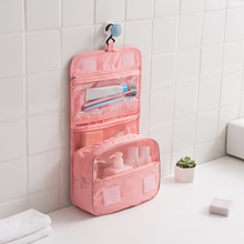 Hanging Makeup Organizers Travel Cleanser Bags Cosmetic Toiletries Toothpaste Po