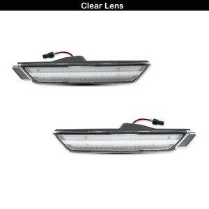 Image 3 - IJDM marqueur frontal, feux pour Chevy Camaro, 12V ambre, LH RH, alimenté par 26 lumières de SMD LED, 2010, 2015