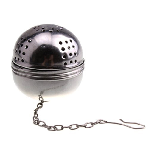 Stainless Steel Egg Shaped Tea Kettles Infuser Strainer Locking Spices Ball