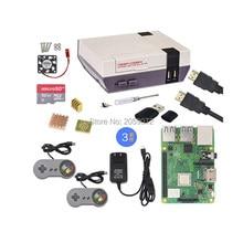Raspberry Pi Caso + Retroflag com PI 3B + gamepad jogo Nespi SD cartão