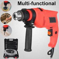 NEW Multifunction Electric Drill Drain Plumbing Cleaning Tools Kit Auger Unclog Wire Drainer Power Drill