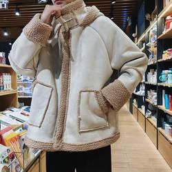 Зимнее пальто Для мужчин толстые теплые модные куртка Ретро Повседневное свободные хлопковые куртка с капюшоном человек сплошной Цвет