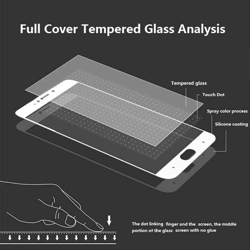 מזג זכוכית עבור ASUS Zenfone מקסימום פרו (M1) (M2) שחור מסך מגן סרט ZB601KL ZB602KL ZB633KL ZB631KL rog טלפון ZS600KL