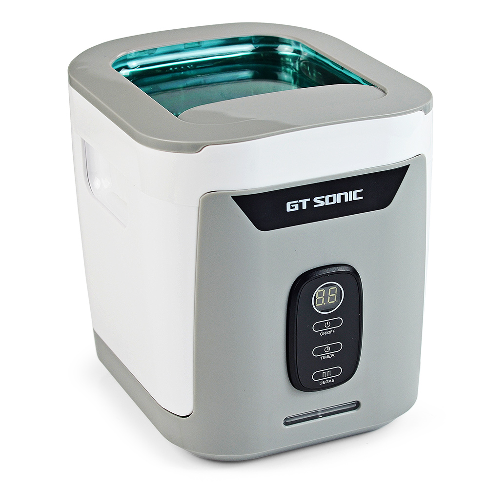 все цены на GT SONIC GT-F4 Small Split Ultrasonic Cleaner 1.3L 50W Household Jewelry Industrial Parts Laboratory Cleaning for Office Use онлайн