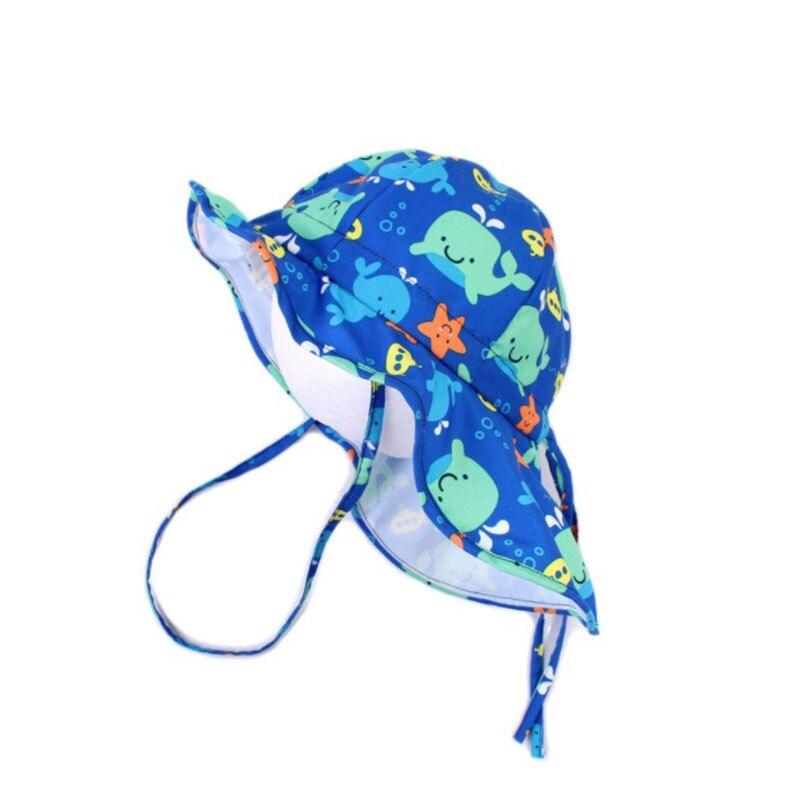 Klug 2019 Sommer Baby Jungen Sonne Hüte Mit Hals Klappe Kind Kind Im Freien Schwimmen Kappe Junge Toddle Kinder Strand Hüte Mit Whale Große Krempe HöChste Bequemlichkeit