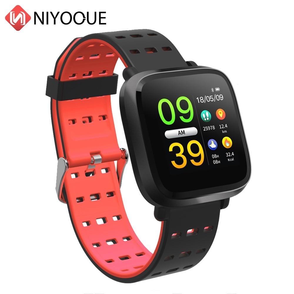 Smartwatch Reloj Inteligente Pulsometro Ritmo Cardi Fitness Tracker Fernbedienung Smart Armband Wasserdicht Armband Uhr