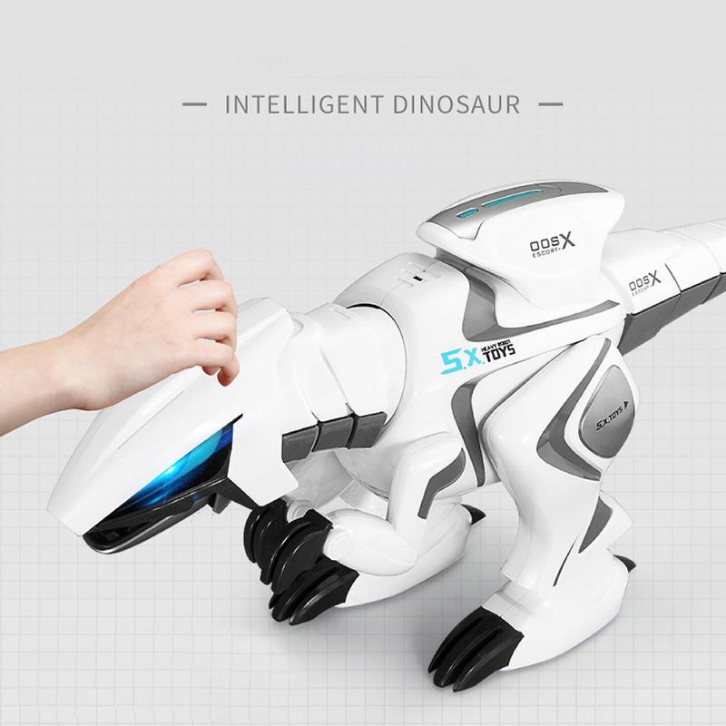Télécommande dinosaure éducation précoce Robot Intelligent télécommande dinosaure pour enfants garçons filles électronique RC jouets cadeau
