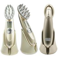 Laser Hair Growth Massage Comb Infrared RF White, Gold Anti 5W Hair Loss AC100 240V/50HZ Hair Repair