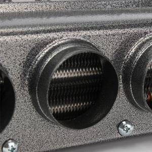 Image 3 - DC12 24V 6 منافذ سيارة شاحنة سخان السيارات السباكة مكيف الهواء المبخر الصقيع مزيل الضباب مسخن الهواء W التبديل