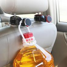 1Pc Multi-function Seat Back Hanging Storage Car Hook Mobile Phone Holder Rear Magnetic Bracket Vehicle