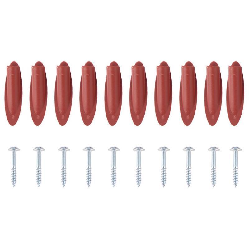 10 шт./компл. набор направляющих для сверл с наклонным отверстием набор зажимов для отверстий пробки + винты наклонные фитинги для деревообра...