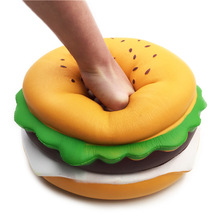 Large Squishying Cheese Burger Humongous Hamburger 25CM Slow Rising Rebound Jumbo Gift Collection Decor Toys
