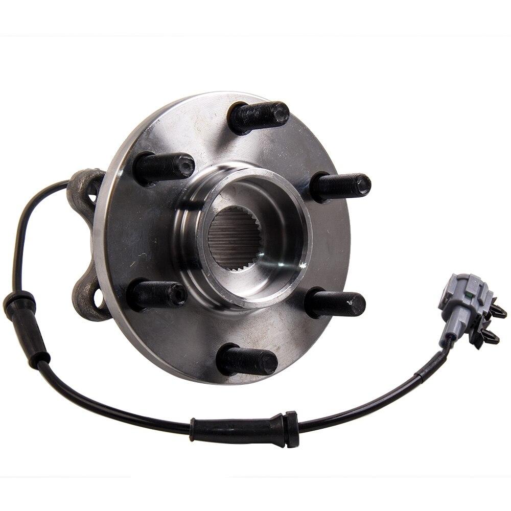 1 moyeu de roulement de roue avant pour NISSAN NAVARA 4WD D22 D40 YD25 VQ40 espagnol MAX pour NISSAN NAVARA/PATHFINDER 2.5, 3.0, 4.0 dCi SPT - 2