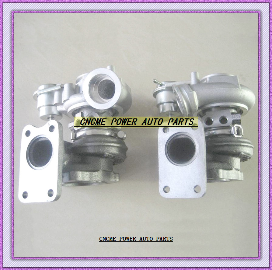 Automobiles & Motorcycles 2pc Turbo Td03 49131-05111 49131-05110 49131-05100 49131-05011 49131-05001 8601454 9471563 For Volvo Pkw S80 Xc90 B6284t T6 2.8l Volume Large