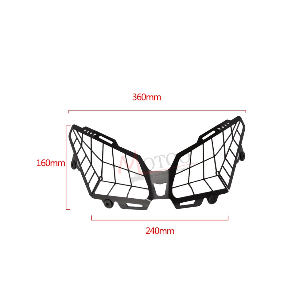 For YAMAHA MT09  Tracer 900 FZ09  Grille Headlight Protector Guard Lense Cover-in Covers & Ornamental Mouldings from Automobiles & Motorcycles    2