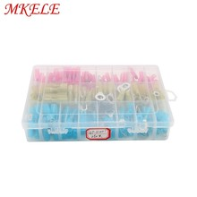 цена на 250pcs/Box Assorted Insulated Electrical Wire Terminals Crimp Connector Spade