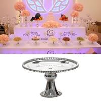 Iron Cake Display Stand Gold Silver Wedding Birthday Supplies Fruit Cupcake Stand Holder Iron Dessert Stand Set Party Supplies