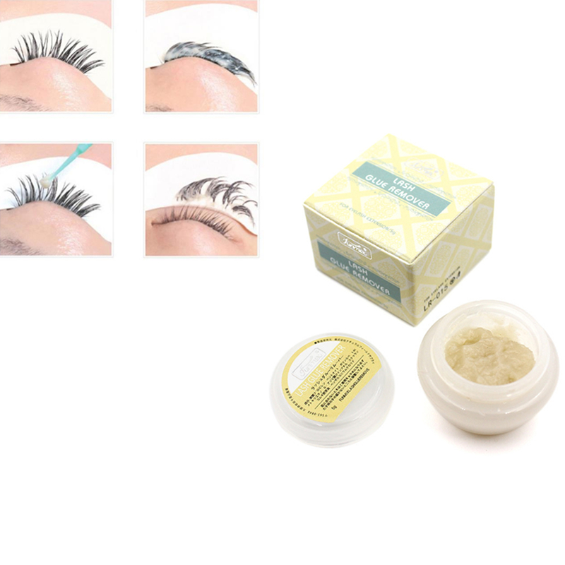 Hot Funmix 5g Eyelash Extension Glue Remover False Eye Lashes Makeup Removers Tool False Lash Glue Remover Colle Faux Cil TSLM2
