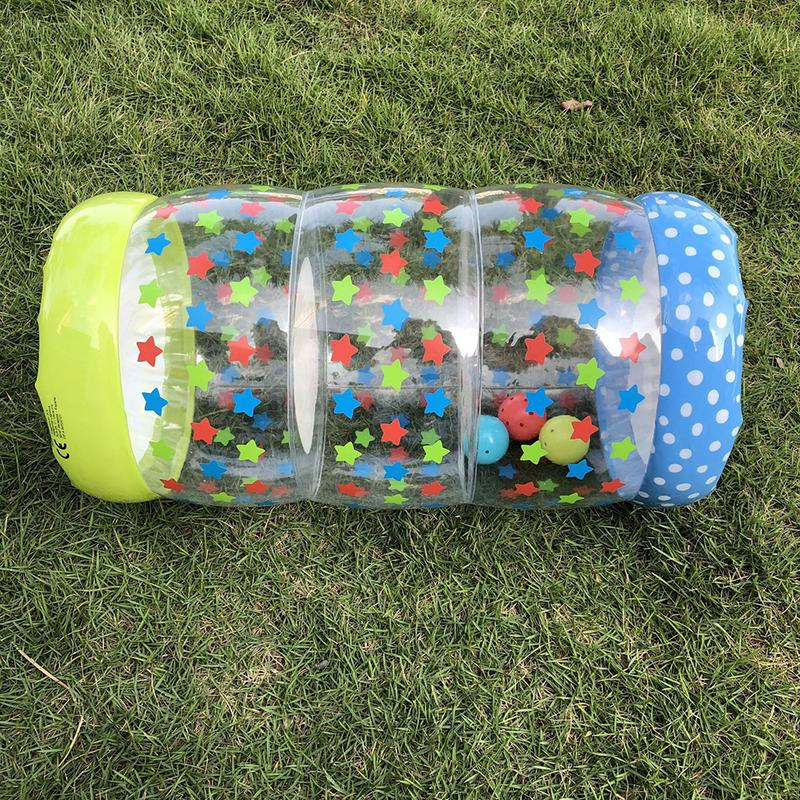 Crawling Plastic Training Roller Infant Inflatable Durable Roller Bao Exercise Early Learning For Infants Toddlers
