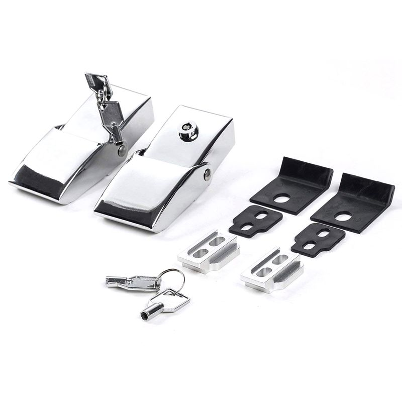 New Electroplating Machine lid lock engine Stainless steel + aluminum alloy tower buckle Wrangler engine lock buckle with lockNew Electroplating Machine lid lock engine Stainless steel + aluminum alloy tower buckle Wrangler engine lock buckle with lock