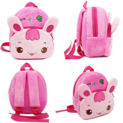 Kids & Baby's Bags Supply Children Plush Backpack Cartoon Ladybug Bags Baby Toy Kids School Bag For Kindergarten Boy Girl Kawaii Candy Bag Toys High Quality And Inexpensive