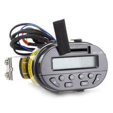AOVEISE Mt729 Dc12V мотоцикл нагрузки Mp3 аудио Руль дистанционного управления аудио водонепроницаемый охранная сигнализация аудио с дисплеем радио
