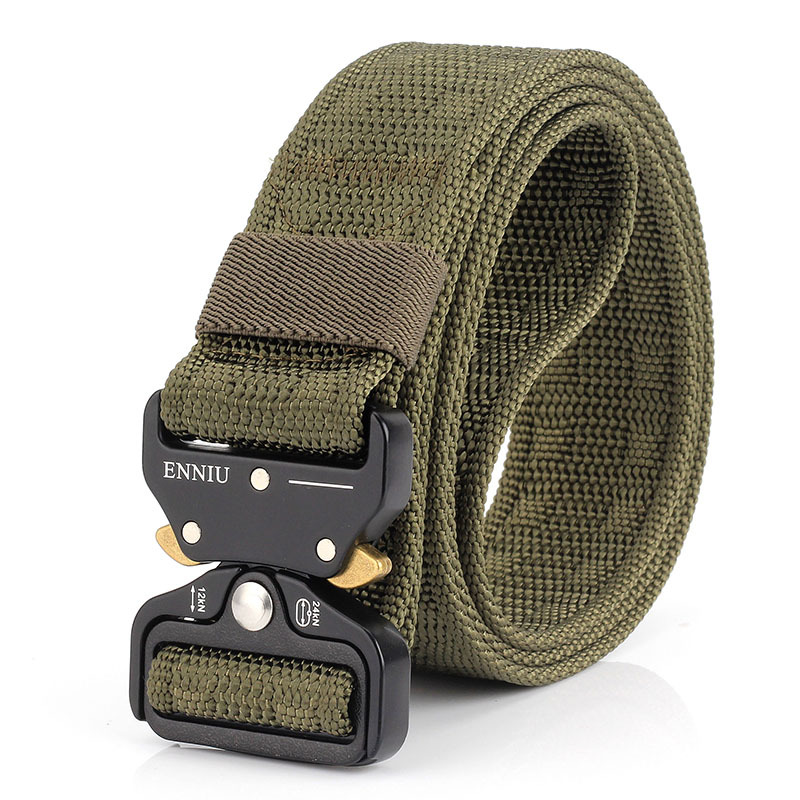 New Hot SWAT Military Equipment Army Belt Men's Heavy Duty US Soldier Combat Tactical Belts Sturdy 100% Nylon Waistband