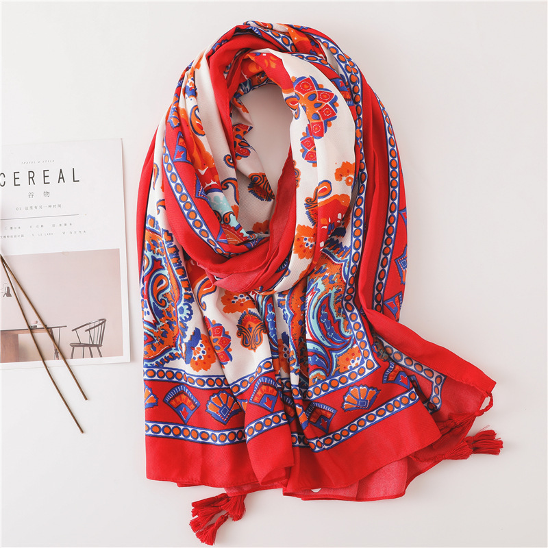 2019 New Sunflower Beach Towel Sea Sun Female Shawl Wild New Style Summer Scarf Tourism Take Pictures