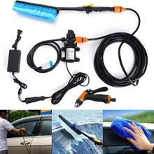 75W 12V 6L/min Portable Car Washer Auto Washing Machine Electric Clean Sprayer Guns Submersible Pump Kit Vehicle Cleaner Tool