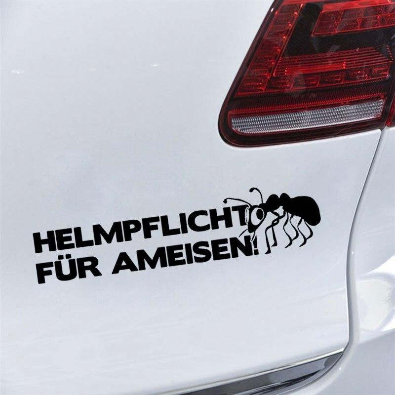 Bumper Sticker Helmet For Ant Fun Deep Sticker Vinyl Car