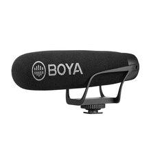 BOYA BY BM2021 léger Super cardioïde vidéo fusil Microphone pour Smartphones DSLR caméras caméscopes PC enregistrement Audio