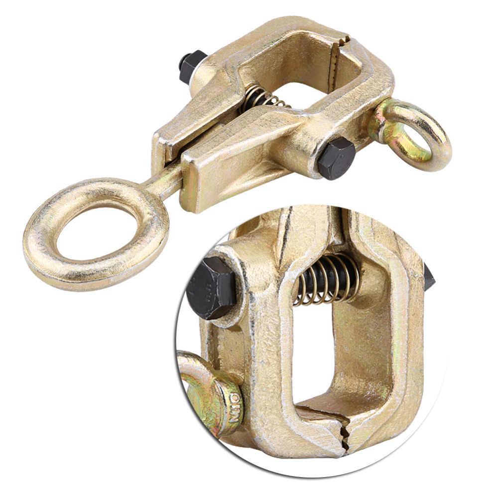 5 טון למעלה & ישר 2-דרך עצמי הידוק מסגרת כידון אוטומטי גוף תיקון למשוך קלאמפ חדש