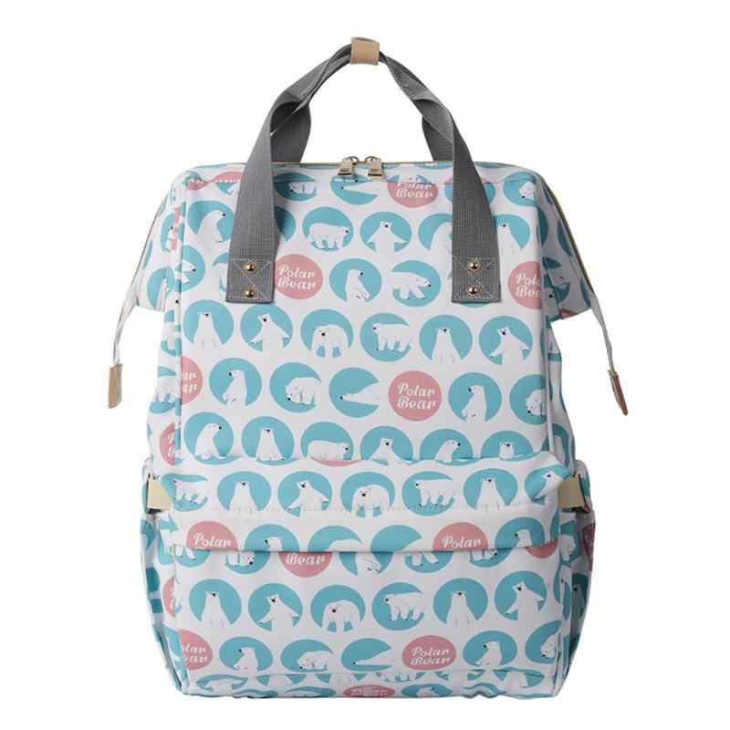 Brand Multifunction Diaper Bag Backpack Mother Care Bags, Baby Stroller Bags Nappy Bag for Mom Ornaments