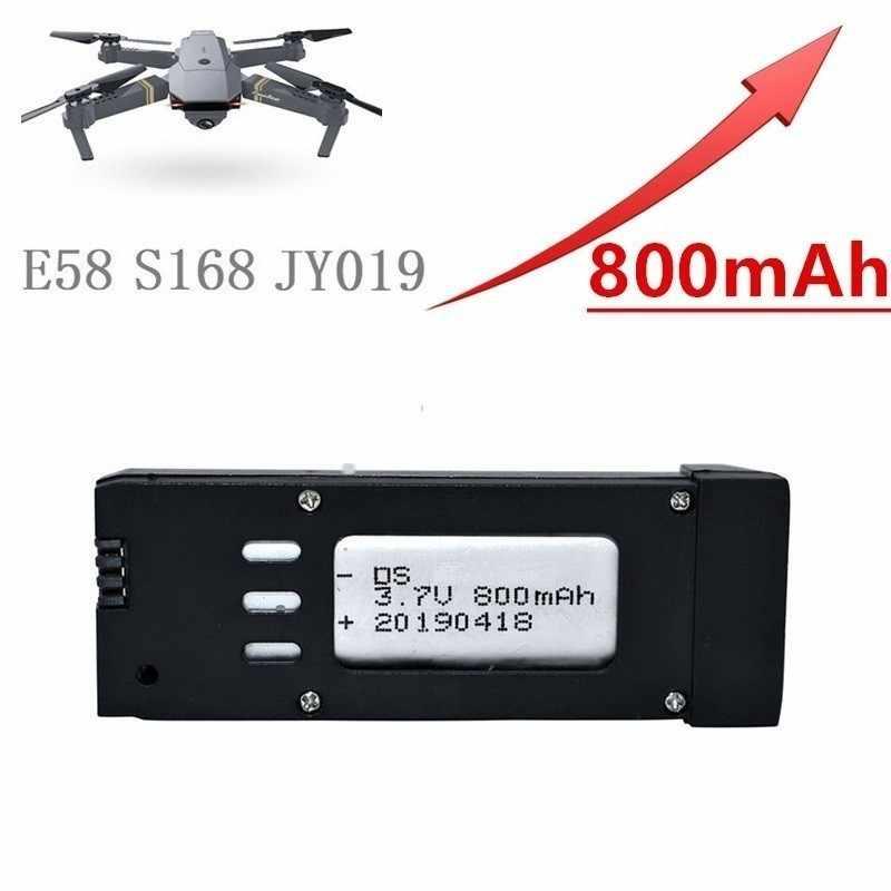 Обновленная батарея 800mAh 3,7 V Lipo для Eachine E58 S168 JY019 RC Дрон Квадрокоптер запасные части 3,7 v перезаряжаемая батарея 20 шт./лот