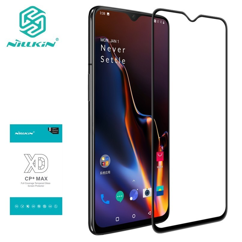 for Oneplus 7T Tempered Glass for Oneplus 6T / 7 Screen Protector Nillkin XD CP+MAX Anti Glare Protective film For One plus 7 7T-in Phone Screen Protectors from Cellphones & Telecommunications on