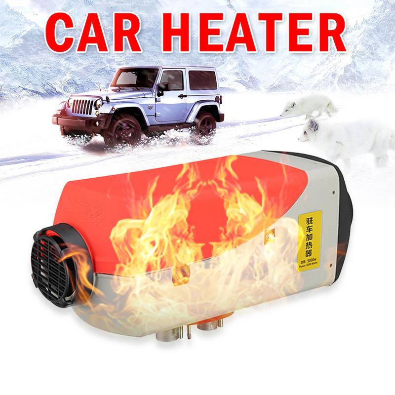 Thermostat à cristaux liquides dynamique de réchauffeur d'air Diesel de voiture de 12 v/24 v 5KW pour le réservoir marin du silencieux 10L de moteur de voiture de passager de camion de SUV