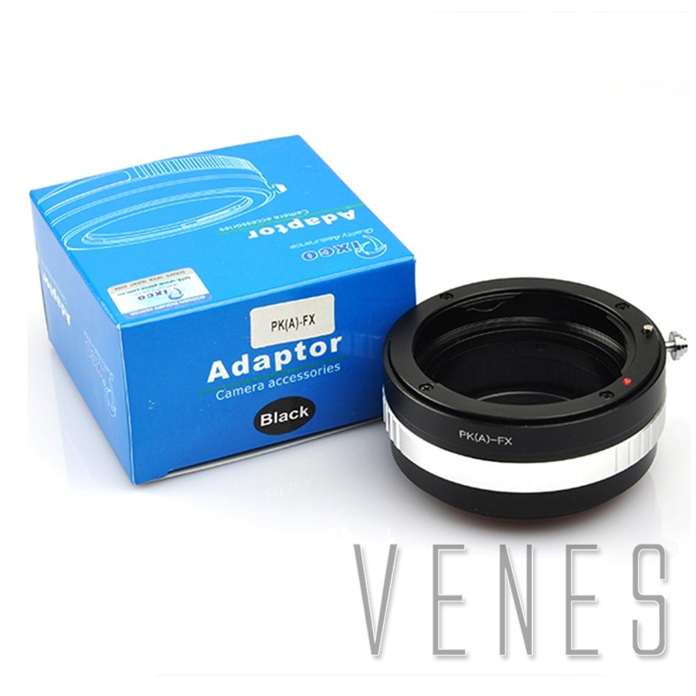 Venes Pour PK (Un)-FX, PRO Lentille Adaptateur Costume Pour Pentax K DA Lentille à Costume pour Fujifilm X Caméra