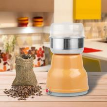Electric Stainless Steel Coffee Bean Grinder Multi-functional Kitchen Coffee Bean Mill Home Milling Machine 100W High Quality