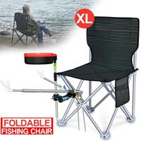 Outdoor Light Folding Camping Fishing Chair Seat Portable Beach Garden Outdoor Camping Leisure Picnic Beach Chair Tool Set